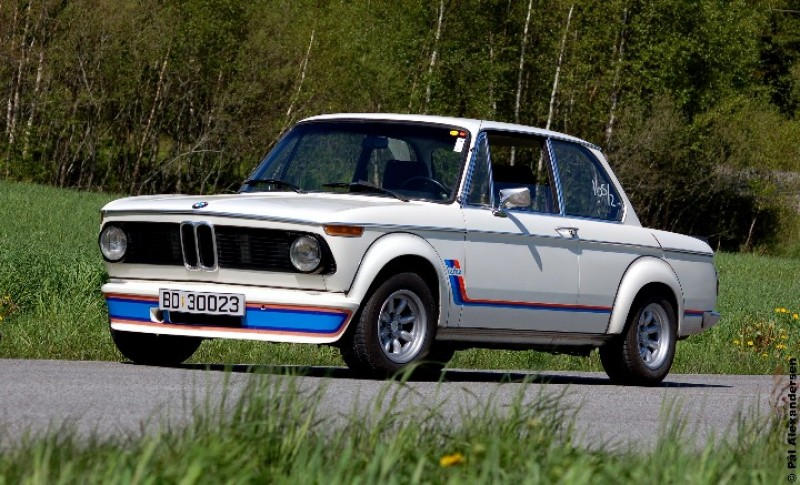 1975 BMW 2002 Turbo 2.0l M10