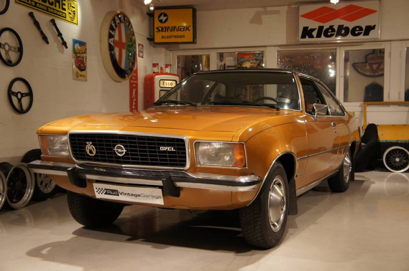 1973 Opel Commodore I6
