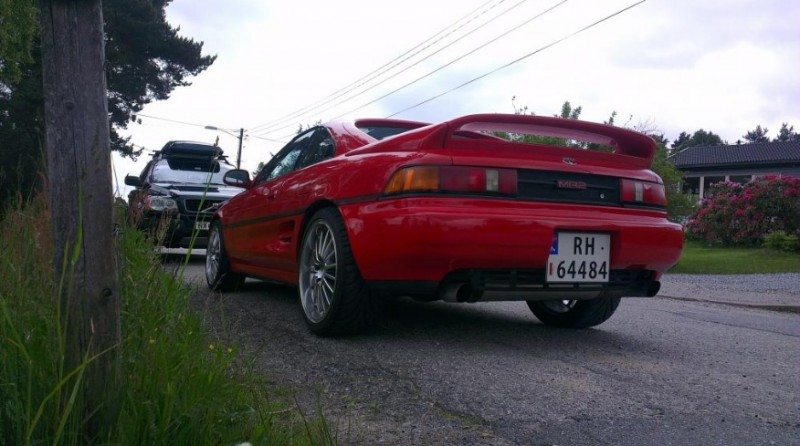 1990 Toyota MR2 W20 2.0l 3S-GE